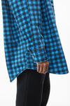 超大版型衬衫式夹克