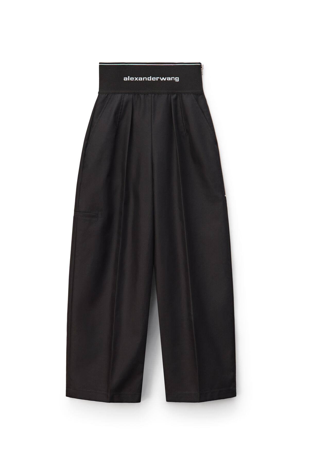LOGO ELASTIC CARROT PANT by Alexander Wang, available on alexanderwang.com for $570 Kylie Jenner Pants SIMILAR PRODUCT
