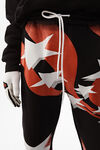 flag print sweatpants