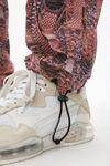印花尼龙运动裤
