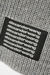 罗纹徽标围巾