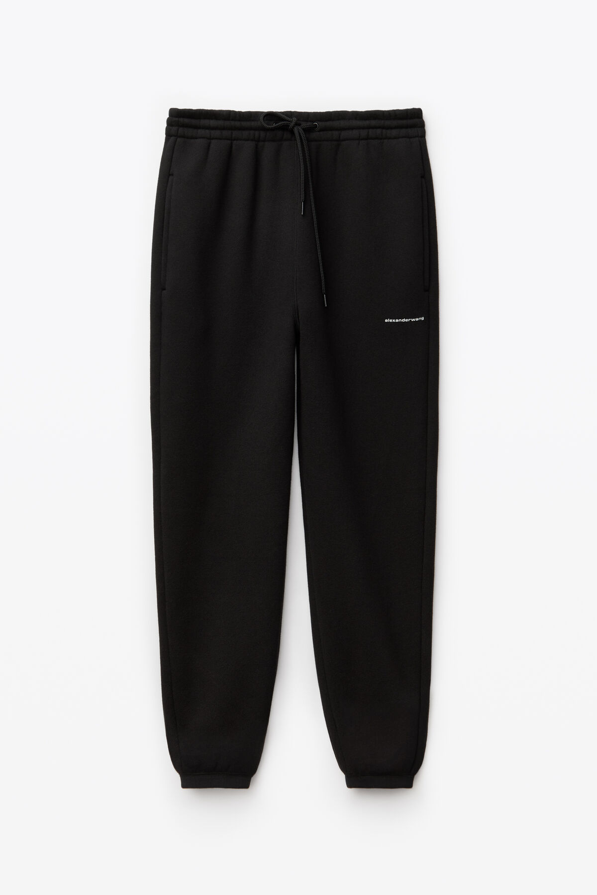 unisex dense fleece sweatpants by Alexander Wang, available on alexanderwang.com for $245 Kylie Jenner Pants SIMILAR PRODUCT