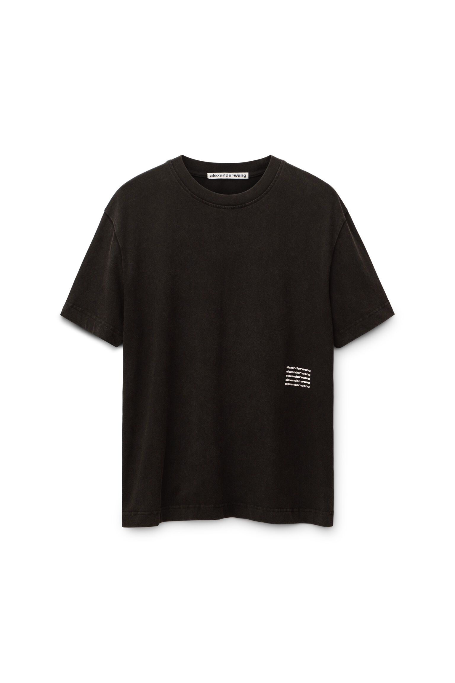 Alexanderwang High Twist Acid Wash T Shirt