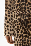 cheetah print robe coat