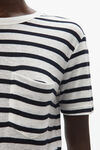 CLASSIC STRIPED POCKET TEE