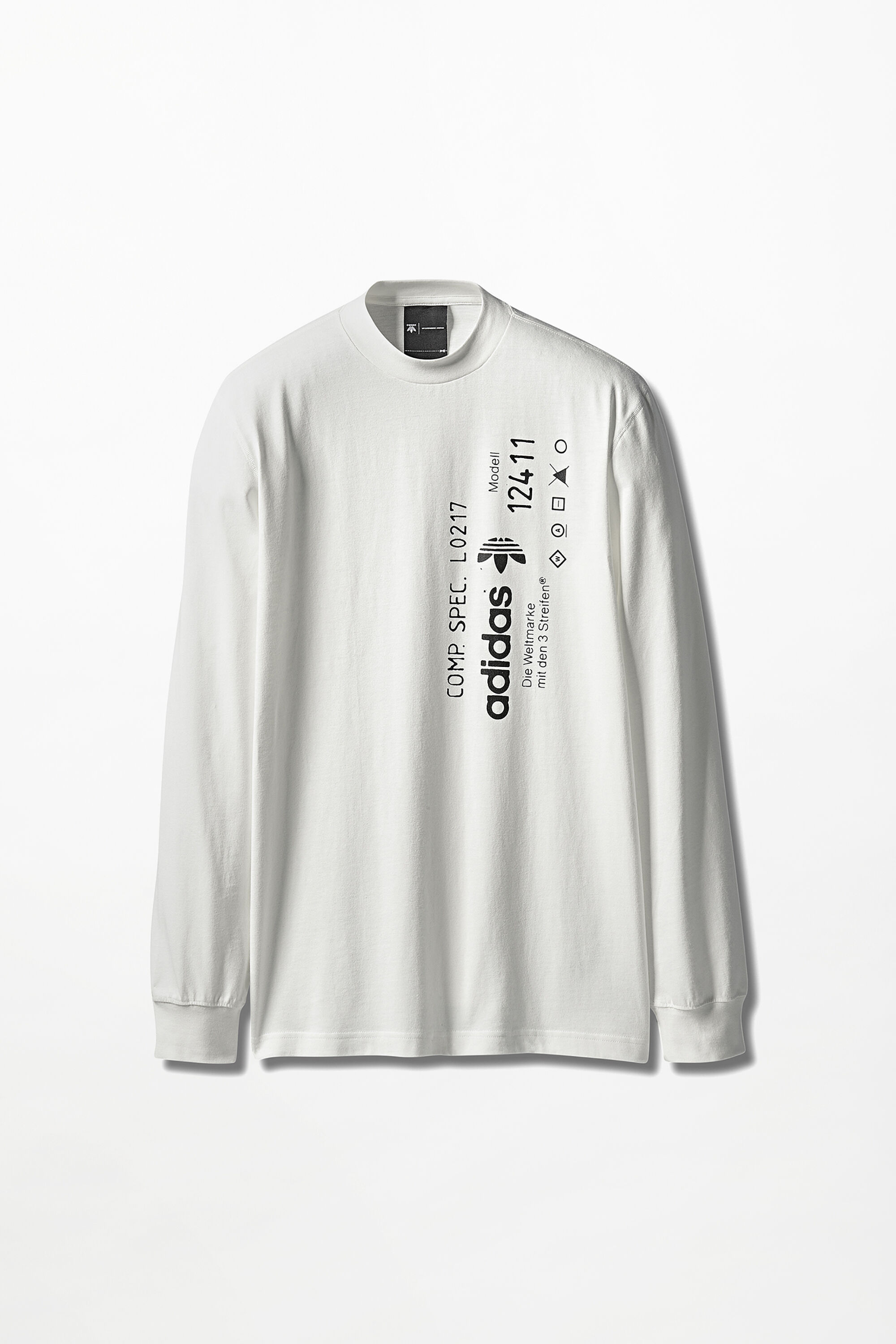 adidas originals by aw graphic long sleeve tee