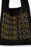 wangloc thank you mini shopper