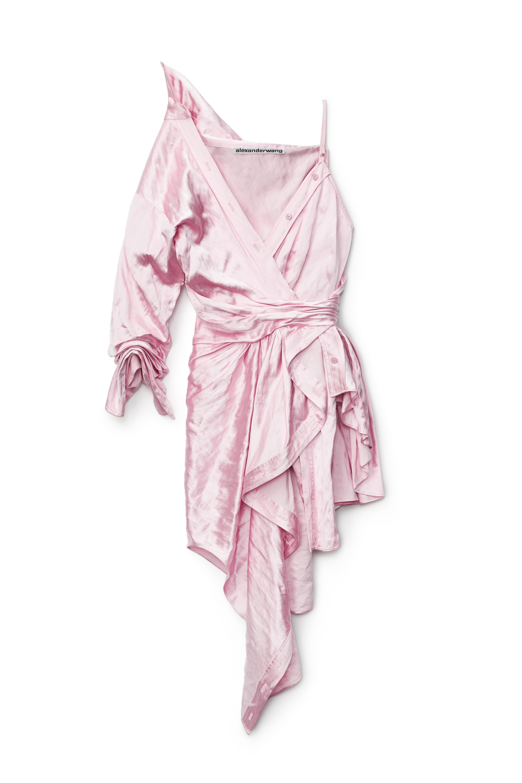 Alexander Wang ASYMMETRIC COLLAR DRESS