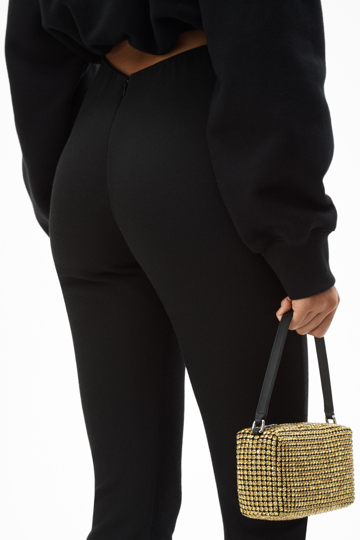 elastic crepe pant