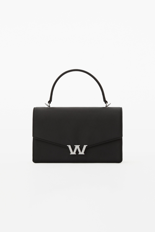 Alexander Wang W Legacy Satchel In Black