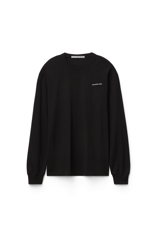 Unisex High Twist Long Sleeve Tee by Alexander Wang