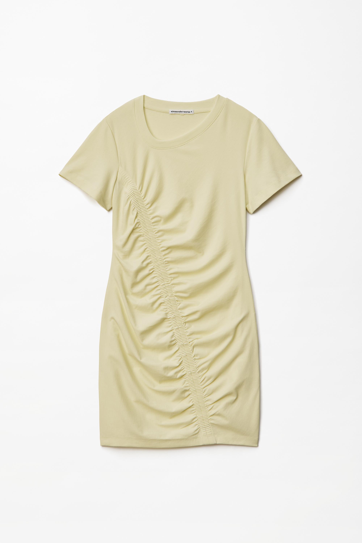 Alexander Wang Dress WASH + GO HIGH TWIST RUCHED DRESS