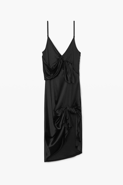 ALEXANDER WANG Dresses KNOTTED SLIP DRESS